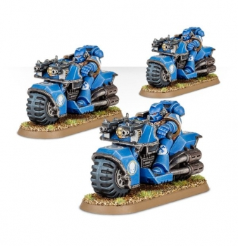 Warhammer 40.000 - Space Marine Bike Squad