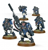 Warhammer 40.000 - Space Marine Scout Squad with Sniper Rifles