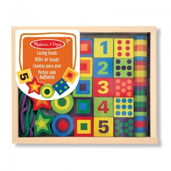 KLOCKI DO NAWLEKANIA  - Melissa and Doug