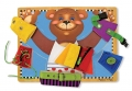 Tablica do nauki ubierania MIŚ - Melissa and Doug